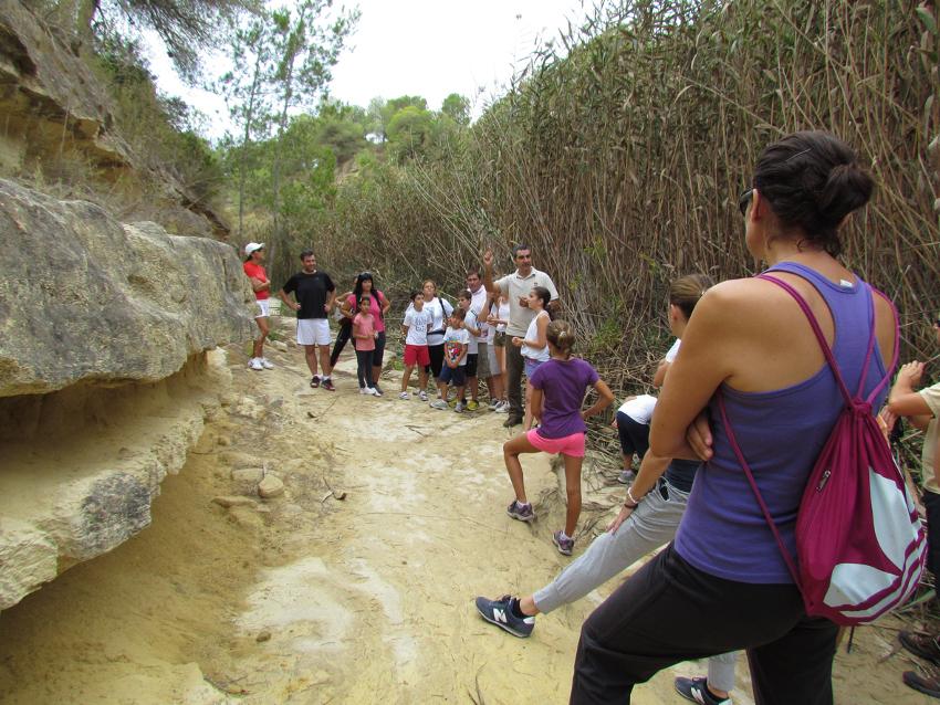 Río Seco Ruta senderismo DMT 028red