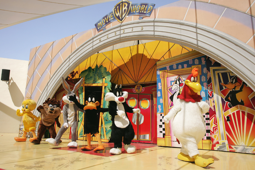 Cartoon Village is the World of the famous Looney Tunes characters, you are sure to feel like a real cartoon for a few hours..