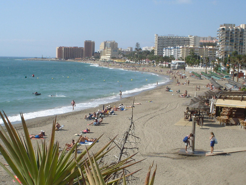 Benalmadena, in Malaga, has over a dozen beaches on its coastline.