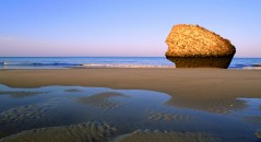 The Matalascañas beach, on the Costa de la Luz in Huelva, is 4 kilometres long and is ideal for a family holiday.
