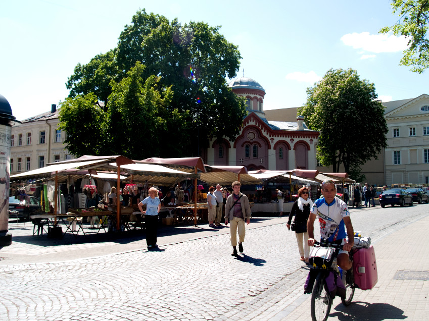 In Vilnius there are street markets where you can find souvenirs for everyone.