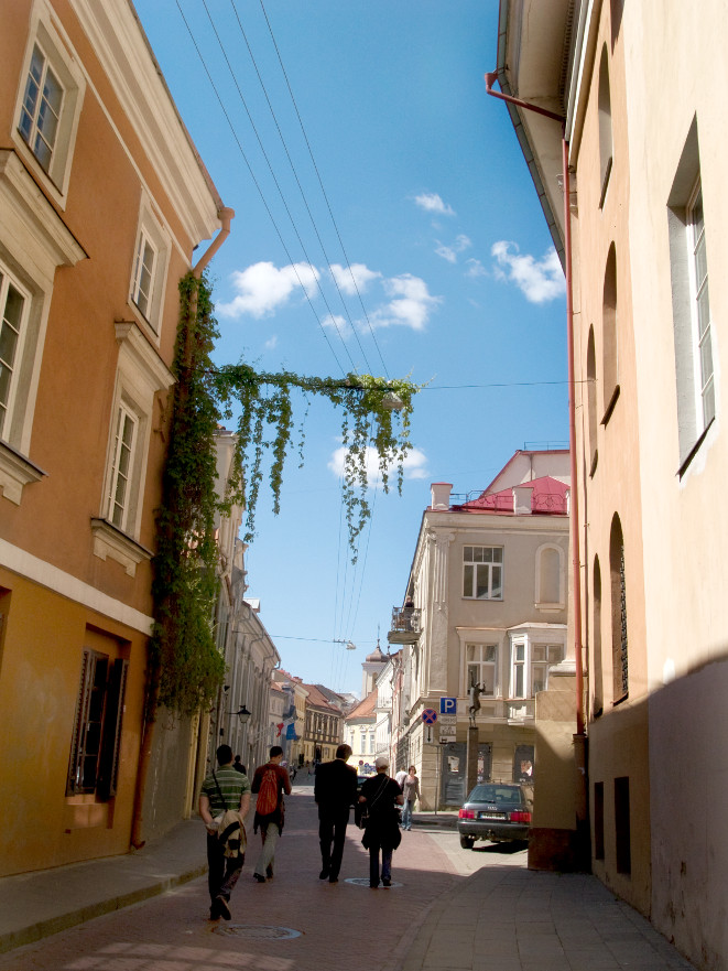 There are several options for guided tours in English around Vilnius, discovering its baroque charm and beautiful hidden corners.