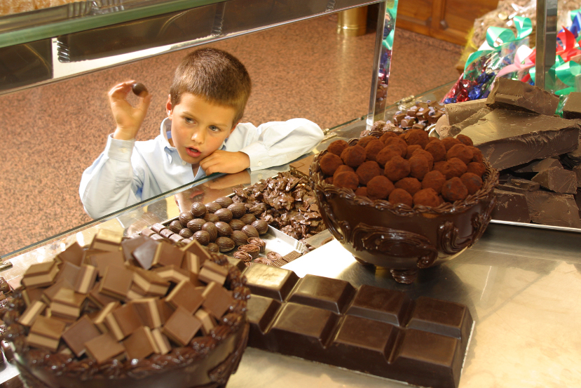 "(Roberto Borgo)  Sweet Tooth In 1802 the first chocolate bar was produced in  Turin. The region is currently known as the ""Italian District of Chocolate"""