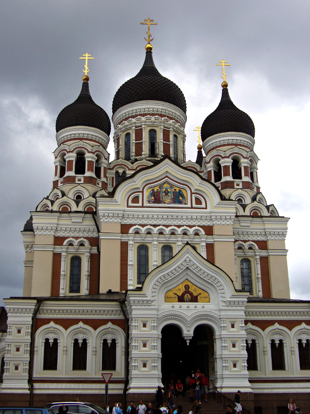 "The ""russification"" of Estonia, begun with Peter I and it is noticeable in the architecture of some of its best monuments"