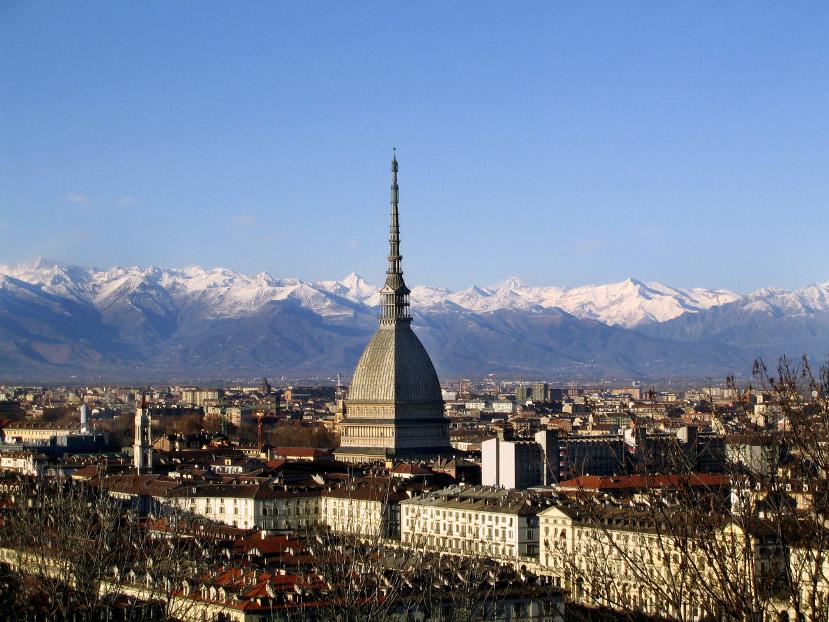 209 Panorama_Mole Antonelliana e Alpi